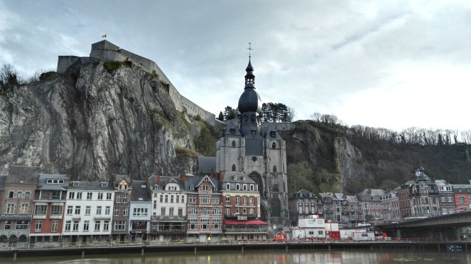 dinant view over water