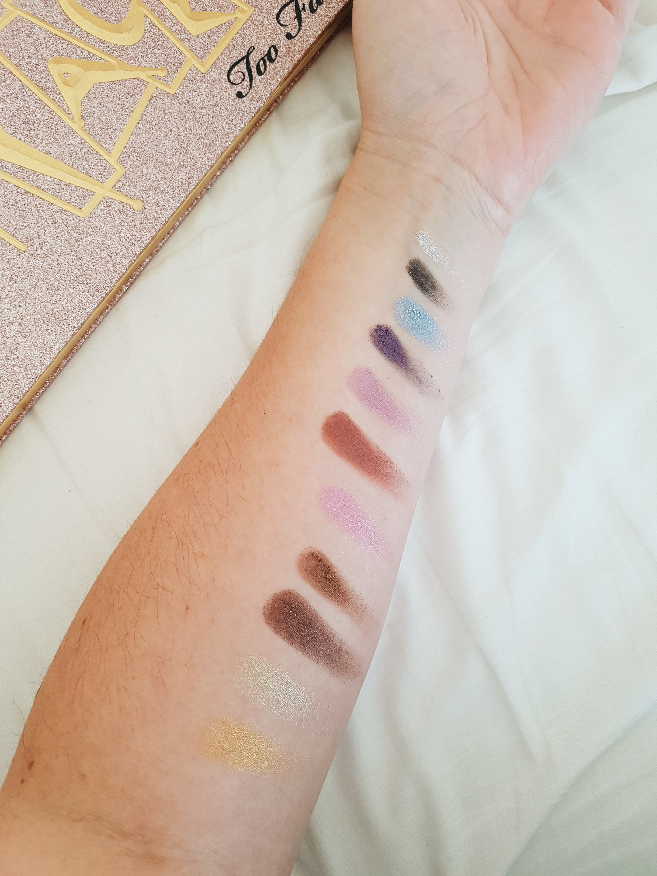 Then and Now Eyeshadow Palette - kleuren 1998
