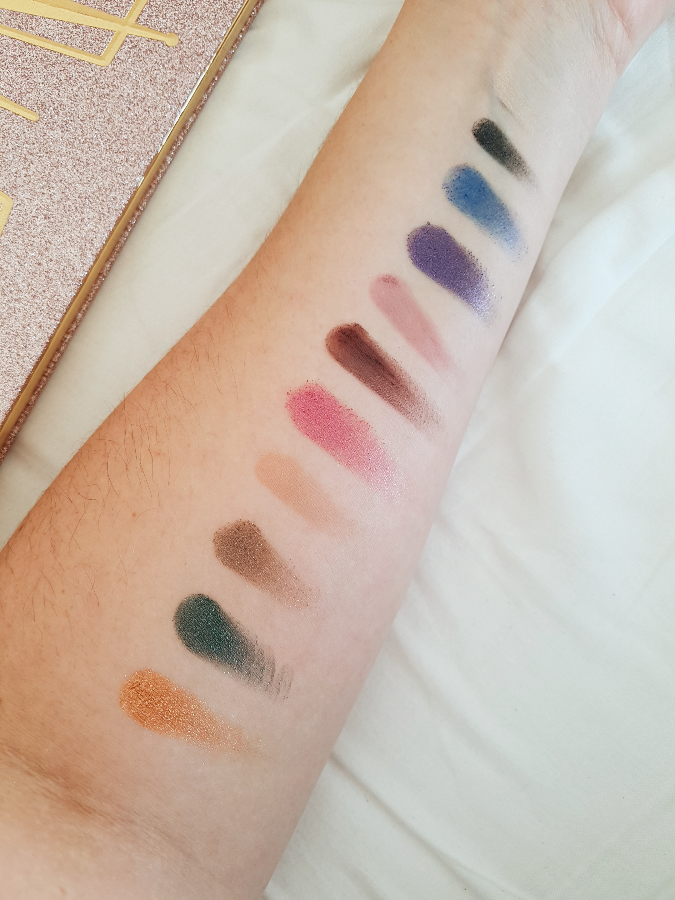 Then and Now Eyeshadow Palette - kleuren 2018